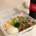 ( ・×・)アラモアナショッピングセンターで野菜たっぷりのオリジナルポケ丼がサブウェイみたいにつくれるお店発見!「POKE&BOX(ポケ&ボックス)」