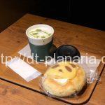 ( ・×・)パンダラテとメロンパンダ上野のプロントでパンダづくし