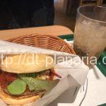 ( ・×・)2月6日から限定のピザバーガーを一足先に食べてみたよ!「マルデピザ」モスバーガー