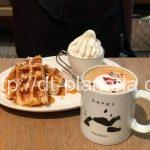( ・×・)上野界隈の中でパンダラテアートの可愛さナンバーワン!「C's CAFE (シーズカフェ)ecute上野店」
