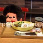 ( ・×・)浅草橋にモンチッチカフェがあったよ!「plus secret(プラススクレート)」