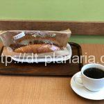 ( ・×・)錦糸町駅前の丸井入ってすぐの「下町のパン工房」はコッペパンとサイフォンコーヒーのレトロなカフェでした