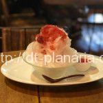( ・×・)素材にこだわるヘルシーカフェのかき氷は酵素シロップのイチゴがめちゃ美味しいですよ「むぎわらい」三ノ輪