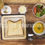 ( ・×・)あの「俺の」シリーズのカフェが京橋にオープンしていました!トーストにスパークリングワインもおススメです!