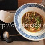 ( ・×・)ミッドタウン日比谷にある「NADABAN by HAL YAMASHITA」で名物カレーうどん!一口ご飯つき