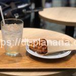 ( ・×・)渋谷のエクセルシオールカフェで「アップルビネガー&ハニーソーダ」と「クロワッサンワッフル」
