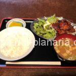 ( ・×・)下町の焼肉屋さんで「カルビ定食」ランチ コーヒー付き 三ノ輪「もりちゃん」