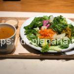 ( ・×・)渋谷マークシティのスープストックトーキョーでサラダセット