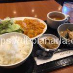 ( ・×・)稲荷町駅からすぐの四川料理店でエビチリソース定食ランチ「一番太鼓」