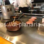 ( ・×・)鉄板で焼いてくれた手作りハンバーグが美味しいランチ「天神(TENJIN)」