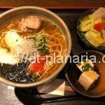 ( ・×・)上野で「沖縄そば定食」ランチを食べてきた!「沖縄ダイニング 琉歌 (りゅうか) 上野本店」